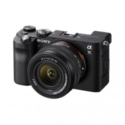 Sony Full-frame Mirrorless Interchangeable Lens Camera with Sony FE 28-60mm F4-5.6 Zoom Lens Alpha A7C 24.2 MP, ISO 102400, Disp