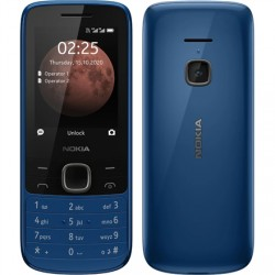 """Nokia 225 4G TA-1316 Blue, 2.4 """", TFT, 240 x 320 pixels, 64 MB, 128 MB, Dual SIM, Nano-SIM, 3G, Bluetooth, 5.0, USB version Micr"""
