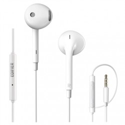 Edifier Wired Earphones P180 Plus Built-in microphone, 3.5mm audio, White