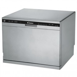 Candy Dishwasher CDCP 8S Free standing, Width 55 cm, Number of place settings 8, Number of programs 6, Energy efficiency class F