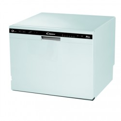 Candy Dishwasher CDCP 8 Free standing, Width 55 cm, Number of place settings 8, Energy efficiency class F, White
