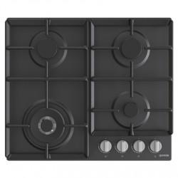Gorenje Hob GW641EXB Gas, Number of burners/cooking zones 4, Mechanical, Black