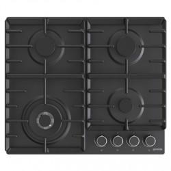 Gorenje Hob GW642AB Gas, Number of burners/cooking zones 4, Mechanical, Black