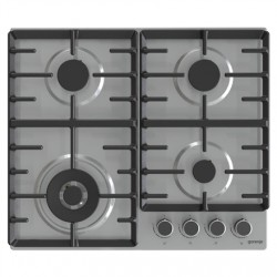 Gorenje Hob GW642ABX Gas, Number of burners/cooking zones 4, Mechanical, Stainless steel