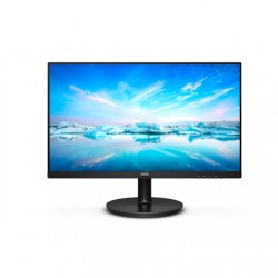 """Philips LCD monitor 241V8L/00 23.8 """", FHD, 1920 x 1080 pixels, VA, 16:9, Black, 4 ms, 250 cd/m², Audio out, 75 Hz, W-LED system,"""