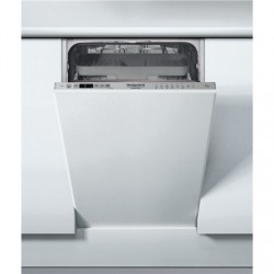 Hotpoint Dishwasher HSIC 3T127 C Built-in, Width 44.8 cm, Number of place settings 10, Number of programs 9, E, Display, Silver