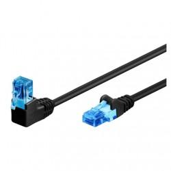Goobay Patch Cable 51530 Cat 6, U/UTP, Black, 2 m