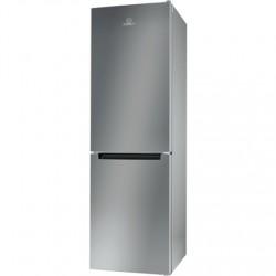 INDESIT Refrigerator LI8 S1E S Energy efficiency class F, Free standing, Combi, Height 188.9 cm, Fridge net capacity 228 L, Free