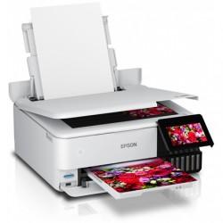 Epson Wireless Photo Printer EcoTank L8160 Colour, Inkjet, A4, Wi-Fi, Grey