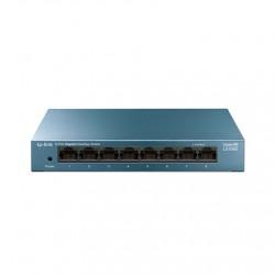 TP-LINK 8-Port 10/100/1000Mbps Desktop Network Switch LS108G Unmanaged, Desktop