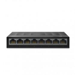 TP-LINK Desktop Switch LS1008G 10/100/1000 Mbps (RJ-45), Unmanaged, Desktop, Ethernet LAN (RJ-45) ports 8
