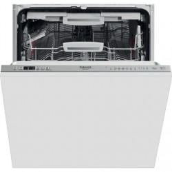 Hotpoint Dishwasher HIC 3O33 WLEG Built-in, Width 59.8 cm, Number of place settings 14, Number of programs 8, Energy efficiency