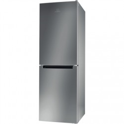 INDESIT Refrigerator LI7 SN1E X Energy efficiency class F, Free standing, Combi, Height 176.3 cm, No Frost system, Fridge net ca
