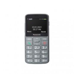 "Panasonic KX-TU160 Easy Use Mobile Phone Grey, 2.4 "", TFT-LCD, 240 x 320, USB version USB-C, Built-in camera, Main camera 0.3 MP"