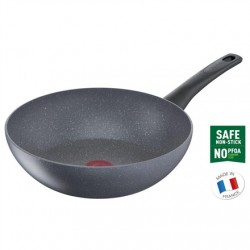 TEFAL Pan G1501972 Healthy Chef Wok, Diameter 28 cm, Suitable for induction hob, Fixed handle