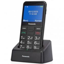 "Panasonic KX-TU155EXBN Black, 2.4 "", TFT-LCD, microSD/microSDHC MB, USB version micro USB, Built-in camera, Main camera 0.3 MP"