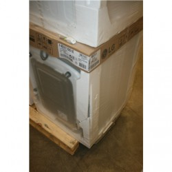 SALE OUT. LG F4DV710S1E Washing machine, White/PL LG DAMAGED PACKAGING, DENT ON SIDE AND CORNER, SMALL SCRATCH ON BACK