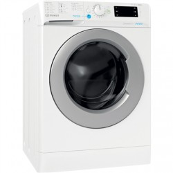 INDESIT Washing machine with Dryer BDE 761483X WS EE N Energy efficiency class D, Front loading, Washing capacity 7 kg, 1351 RPM