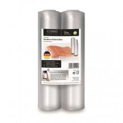 Caso Structured rolls for Vacuum sealing 01295 2 rolls, Dimensions (W x L) 20 x 600 cm