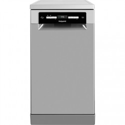 Hotpoint Dishwasher HSFO 3T223 WC X Free standing, Width 45 cm, Number of place settings 10, Number of programs 9, Energy effici