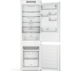 Hotpoint Refrigerator HAC18 T542 Energy efficiency class E, Built-in, Combi, Height 177 cm, No Frost system, Fridge net capacity