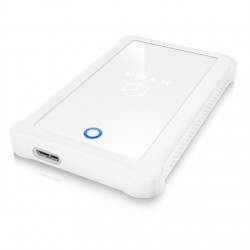 """Raidsonic ICY BOX External enclosure for 2.5"""" SATA HDD/SSD with USB 3.0 interface and silicone protection sleeve 2.5"""", SATA, USB"""