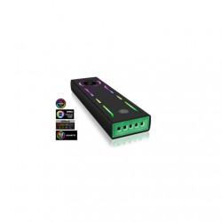 Raidsonic ICY BOX IB-G1826MF-C31 External Type-C gaming enclosure for M.2 NVMe SSD, ARGB Illumination USB 3.1 (Gen 2) Type-C and