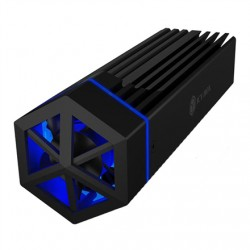 Raidsonic ICY BOX IB-1823MF-C31 Enclosure for 1x NVMe with USB 3.1 (Gen 2) Type-C and Type-A