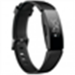 SALE OUT. Fitbit Inspire HR Smart Watches HR, S/L, Black/Black Fitbit Inspire HR Fitness tracker, OLED, Touchscreen, Heart rate