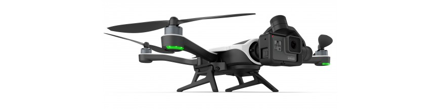 GoPro dronai