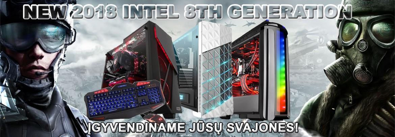 8 kartos Intel kompiuteriai